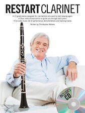 Restart Clarinet Sheet Music Book and CD NEW 014043406