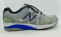 New Balance 1540v2 Mens Gray/Black/Blue Running Sneakers Size 11