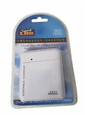 Travel Log Emergency Battery Charger camping, festivals & travelling NEW