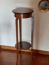 Angoliera piedistallo d'epoca in legno. Altezza cm. 92 - Ottime condizioni