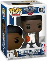 Funko Pop! NBA #62 Zion Williamson Brand New Toy Figure IN STOCK New Orleans