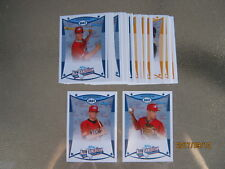 2008 AFLAC 38 card set Scooter Gennett Zack Wheeler 2018 majors and minors