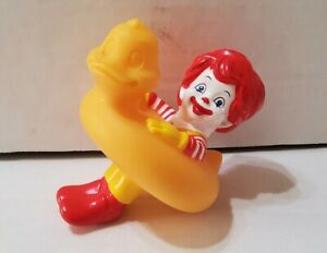 2006 Ronald McDonald Rubber Ducky Happy Meal Bath Toy