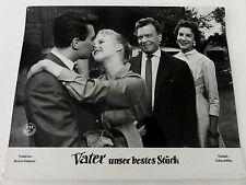 Aushangfoto VATER UNSER BESTES STÜCK Heidi Brühl 1957