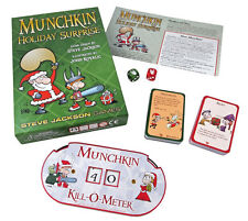 Munchkin Holiday Surprise Expansion Card Game Steve Jackson Booster SJG 1488