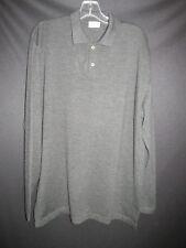 ZANETTI Italy NEW Charcoal Gray Merino Wool Pullover Sweater   Men's L-XL T5