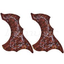 2 Pcs Hummingbird Acoustic Guitar Pickguard Adhesive Scratch Plate