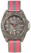 WeWood Wooden Watch - Phoenix 38 - Teak Pink (WPH38P) - NEW WATERPROOF!