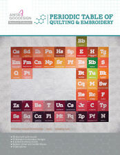 Anita Goodesign Embroidery Design Cd Periodic Table Of Quilting And Embroidery