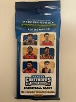2020-21 Panini Contenders Draft Picks  Value Pack Green Shimmer Autos