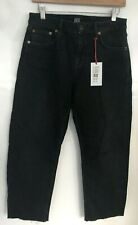 BDG Urban Outfitters AXYL Jeans Womens Black  Size 29w 28L Short Raw Hem RRP £50