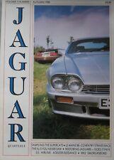 Jaguar Quarterly magazine Autumn 1988 Vol.1 , No.1