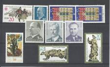 ALEMANIA, (D.D.R.). Conjunto de 10 sellos sueltos nuevos.