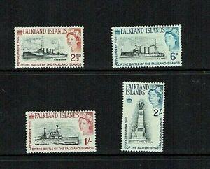 Falkland Islands: 1964 50th Anniversary Battle of the Falklands, MNH  set
