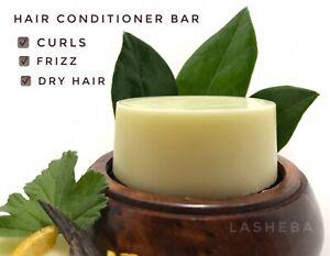 HAIR CONDITIONER BAR FOR CURLS -FRIZZ-DRY HAIR-REPAIR-SHINE-JOJOBA OIL-VEGAN
