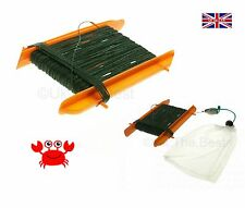 Safety Crab Line With Net To Add Bait NO DANGEROUS HOOKS - NEW