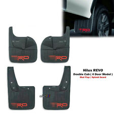 Front Rear Mud Flap Splash Guard For Toyota Hilux REVO 4DR M70 M80 2015-ON