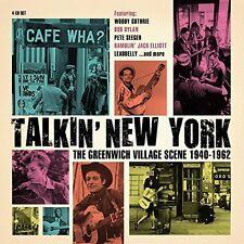 TALKIN' NEW YORK feat.THE WEAVERS, CISCO HOUSTON, BOB DYLAN, ODETTA  4 CD NEU