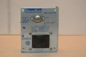 POWER-ONE HB5-3/OVP-A OUTPUT: 5 VDC AT 3.0 AMPS W/OVP POWER SUPPLY