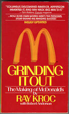 """""""Grinding It Out-The Making of McDonalds"""" Ray Kroc Founder movie 1987"""