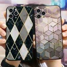 Marble Pattern Soft Silicone Cover For iPhones 11 XR Samsung Huawei Xiaomi Case