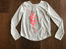 GAP Fit kids girls Ballet Long Sleeve shirt Size 14 16 XXL