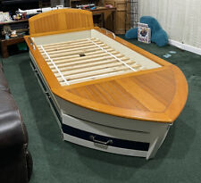 Pottery Barn Race Boat Trundle Bed