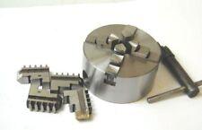 70 mm 4 Jaw Self Centering Scroll Lathe Chuck 12 mm Thread (Ref: 146101)