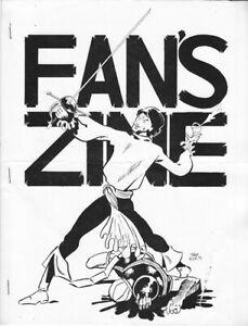 FAN'S ZINE comic fanzine no. 6 w/Frank Miller cover