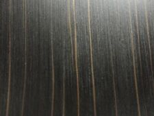 "Macassar Ebony prefinished composite wood veneer 24"" x 24"" on paper backer  #616"