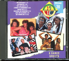 THE BEST OF 12'' GOLD VOL. 20 - 8 DANCE GREATS - MAXI FUNK CD COMPILATION [2748]