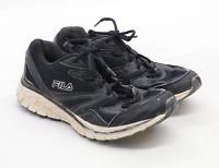 Fila Boys UK Size 3 Black Trainers