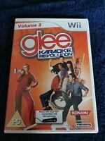 glee karaoke volume 3 nintendo wii  game rare hard to find