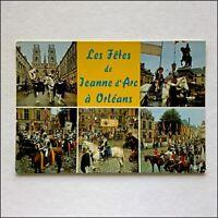Loire Valley Orleans 5 Views Postcard (P413)