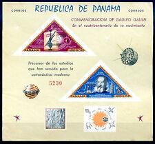 PANAMA - GALILEO GALILEI Mi # Bl 37 M no Gum VF