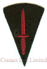 OFFICIAL Badge Qualification Army Commando Trained Field service fighting knife