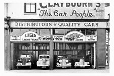 pt8816 - Doncaster Claybourns Car Sales , Hall Gate , Yorkshire - photograph 6x4