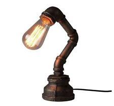 Lampes vintage/rétro marrons en métal pour la maison