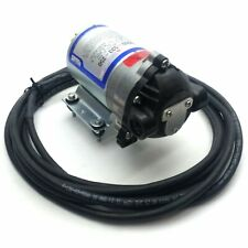 "Shurflo 8000-533-250 Diaphragm Pump 60PSI Bypass 1.4GPM 3/8""NPT Nylon 115VAC"