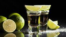6 Spirit Bar Shot Glass 3.4cl Vodka Tequila Hennessy Fireball Jack Daniels Shots