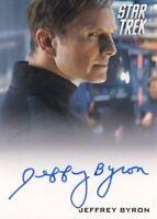 STAR TREK Movie Into Darkness 2014 Autograph Card Jeffrey Byron Test Admin