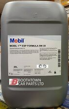 Mobil 1 ESP SAE 5W30 Fully Synthetic Engine Oil 20L Low Emission Oil 20 Litre