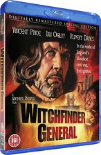 WITCHFINDER GENERAL [Blu-ray] 1968 (The Conqueror Worm) Vincent Price UK Horror