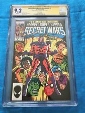 Marvel Super Heroes Secret Wars #2 2nd prt - CGC SS 9.2 -Signed by Zeck, Beatty