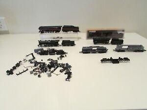 n scale model trains locomotives