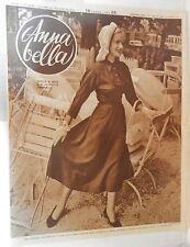 ANNA BELLA 1949 Blu di Parigi Moda d autunno Sprone bolero e bottoni Pasdera di