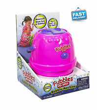 Safe No Spill Outdoor Auto Bubble Maker Machine Children Kids Party Blower Toy