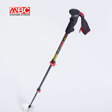 MBC Promotion Quick Lock Carbon Telescopic Trekking Hiking Stick Walking pole