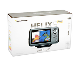 NEW HOT - Humminbird 410210-1 HELIX 5 CHIRP GPS G2 Fish finder - FREE SHIPPING