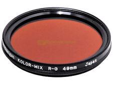 49mm. filtro per bianconero Kolor-Mix R-G Samigon. BW filter.
